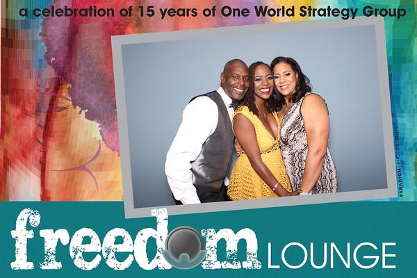 One World Strategy Group 15 Year Celebration - Prints