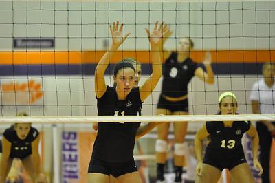Clemson Volleyball Tournament 08/31/2012