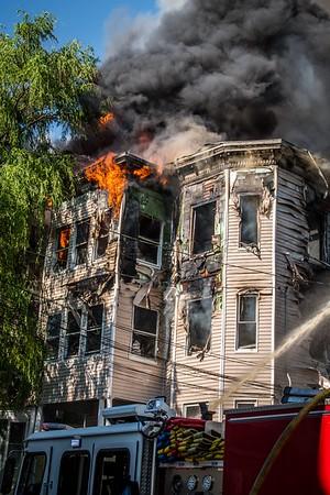 7 Alarm Structure Fire - Bennington & Saratoga Sts, Lawrence, MA - 6/11/17