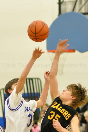 Lampeter-Strasburg J7 Boy's Basketball v. LMH 1.17.12 (Holleran Educational Fund Album)