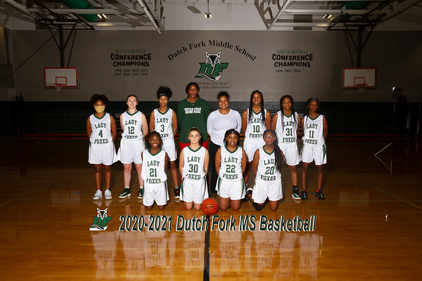 2020-2021 Girls MS Basketball