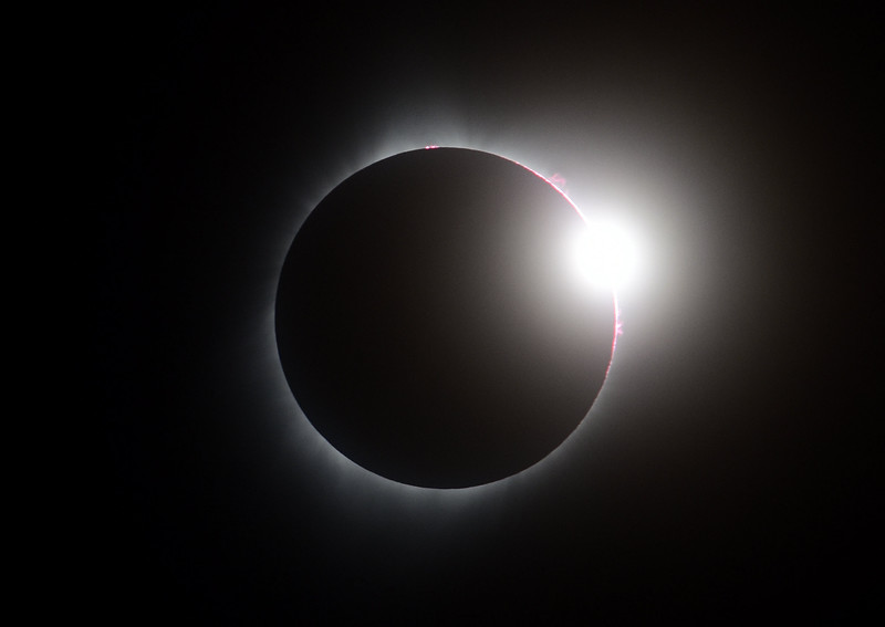 Solar Eclipse (Diamond Ring)