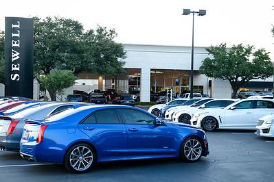 Cadillac V-Club Meeting @ Sewell Cadillac in Dallas, TX  08.20.2019