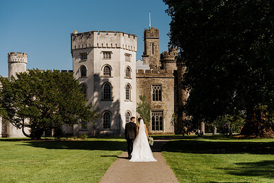 Chelsea and Dean Hensol Castle Wedding