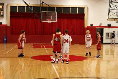 Boys Freshman Basketball - 2/6/2009 Spring Lake