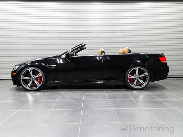 '08 M3 Cabriolet - ESS Supercharged - Black