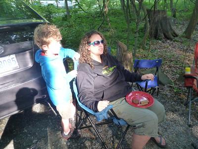 2012 - 06 - Patapsco Camping