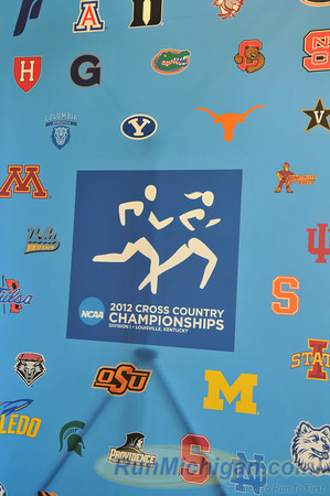 Day before race - 2012 NCAA D1 Cross Country Nationals