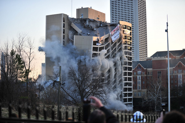 Roosevelt House Implosion - Feb. 27, 2011