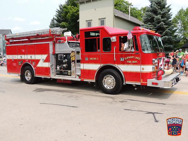 2015 Elkhart Lake Fireman's Parade