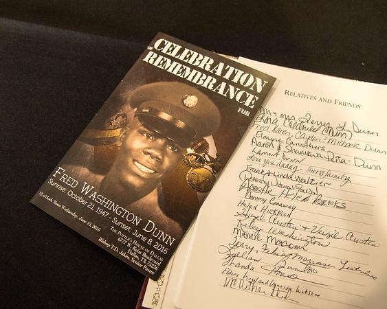 Fred Dunn Memorial Service