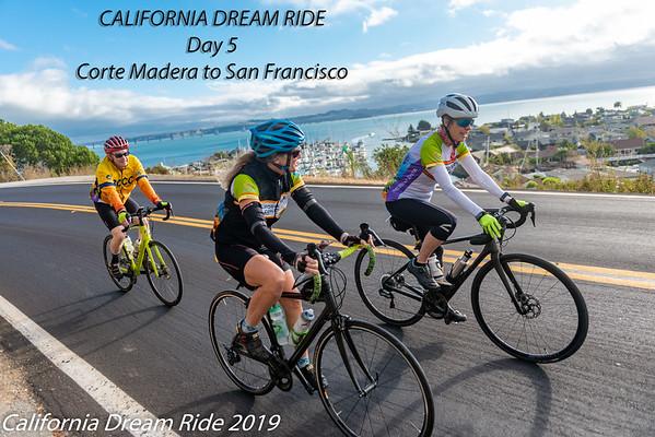 Day 5 California Dream Ride Corte Madera to SF