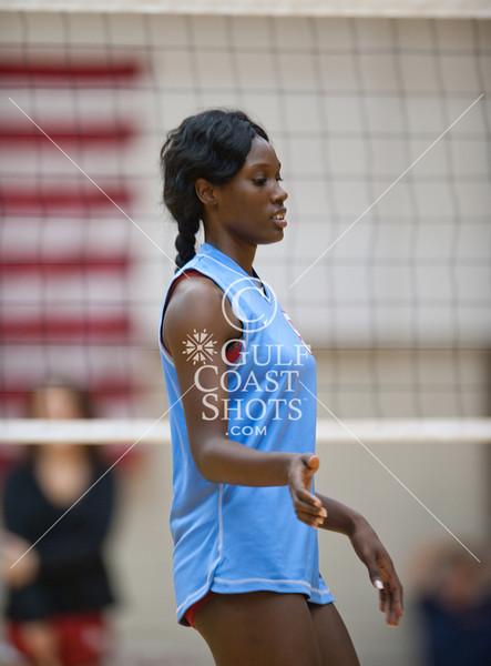 2011-10-25 Volleyball Varsity Girls Madison v Bellaire @ Butler