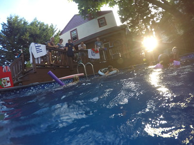 Pool via Go Pro Summer 2017