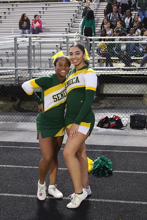SV V Football game vs. Poolesville HS 9-26-2019 Band,Cheerleaders, Fans and POMs