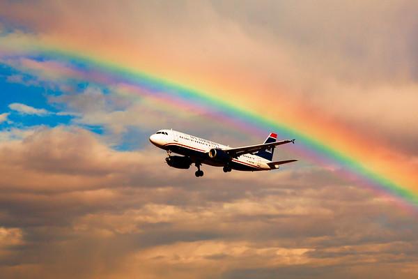 An ACTUAL Rainbow in Phoenix...!