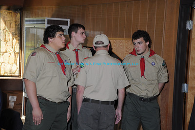 Boy Scout Dinner at Parchment Valley Conference Center 2011