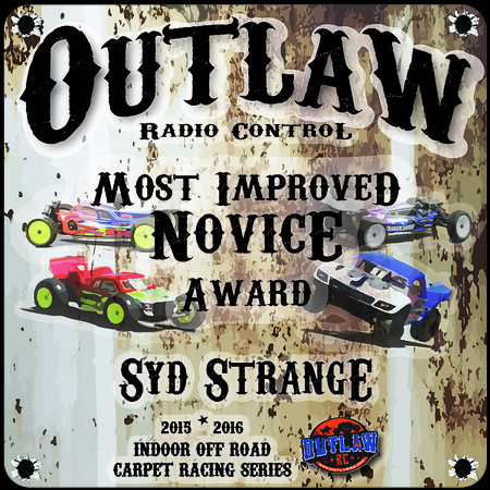 Outlaw RC Plaques
