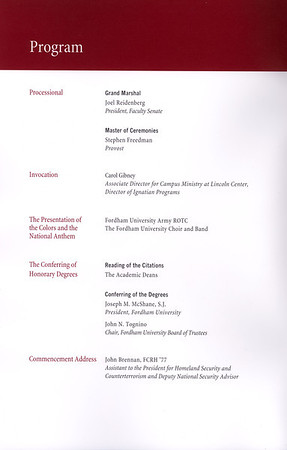 2012-05-19 Commencement Programs for Angela