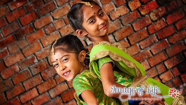 Jiya & Myri's Kathak 2019