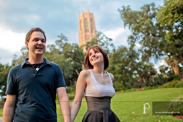 Dan & Jessica's Adventure Begins... (Bok Tower Engagement Session)
