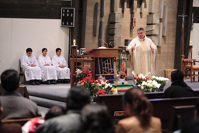 Our Lady of Guadalupe 2006 with Fr. Abraham Cueva