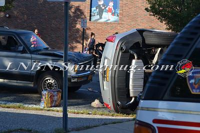 Massapequa F.D. Overturned Auto Park Blvd & Merrick Rd. 5-19-12