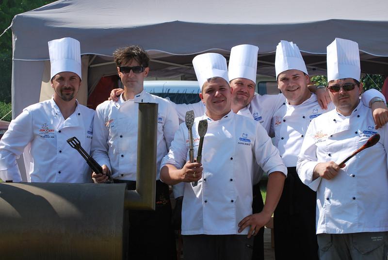 Rahva Barbecue Jungent Foodservice team 2011, 2. koht