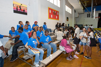 July 31st, 2010 Generals Construction Career Day at the Thomas D. Stephanis Boys and Girls Club