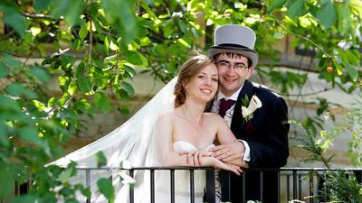 Laura and Alex Chamberlain Wedding