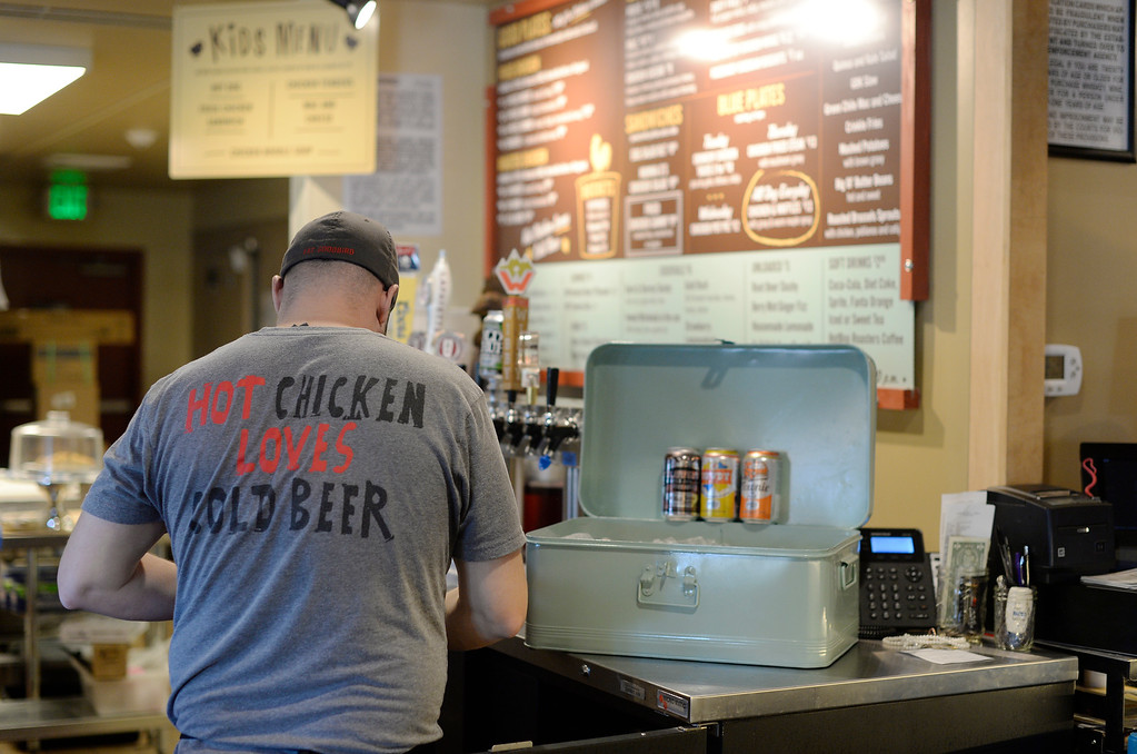 . The GoodBird Kitchen is a new restaurant in Longmont, CO on  Thursday, February 25, 2016. It is a supreme casual comfort food kinda place and is located at 1258 S. Hover Road in Longmont.  (Photo by Cyrus McCrimmon/ The Denver Post)