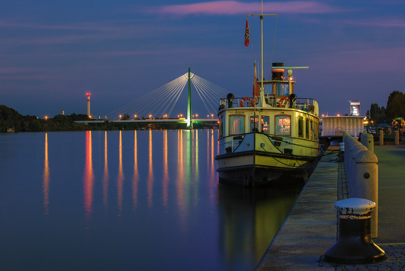 Blue Hour on the Danube