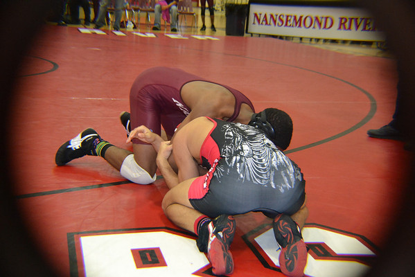SHS Regional Wrestling Match 1/21/12