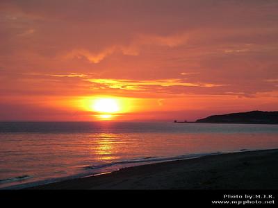 Landscapes, Montauk, NY, Montauk Point Sunrise (8-5-05)