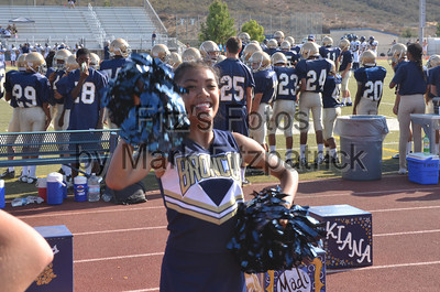 Freshman Cheer vs. Yucaipa