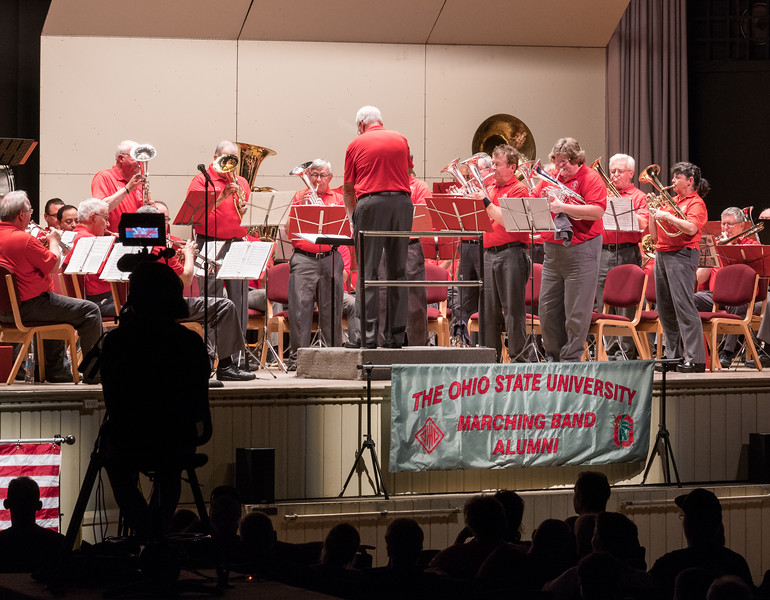 "Al Sweet's ""The Sweet Horn Rag"", arranged for TBDBITL by Ian Polster and performed at Lakeside by ten Horns"
