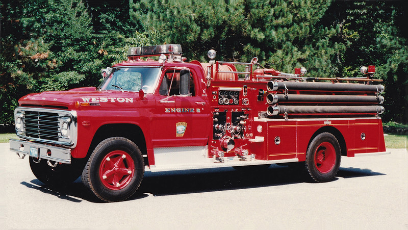Retired Engine 2.  1970 Ford / Pirsch   1000 / 500