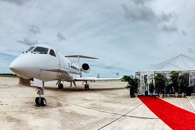 NetJets Groundbreaking at PBIA