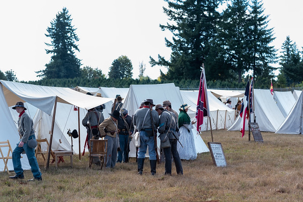 Battle For Colton 2019 Civil War Re-enactment