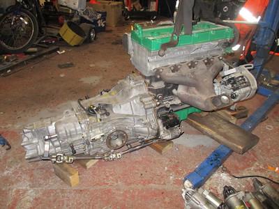 Kara - Cosworth YB to Audi Gearbox