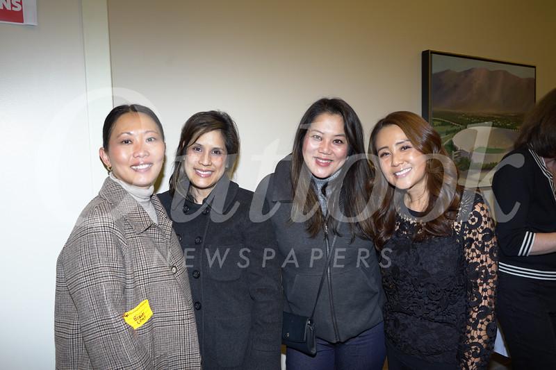 Rusini Haris-Rosen, Allison Yim, Grace Navarrete and Chris Yoo