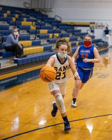 Girls JV Basketball 1/21