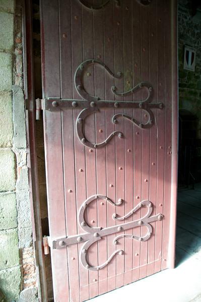 Door leading into the castle