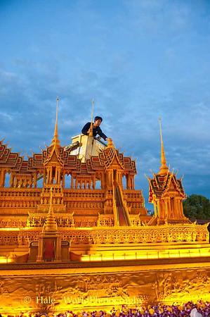 Sakon Nakhon Wax Castle Festival 2013