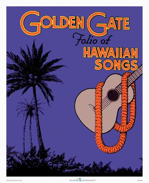 161: Golden Gate Sheet music cover art, from ca. 1938.