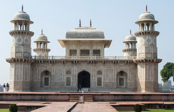 Tomb of I'timād-ud-Daulah is a Mughal mausoleum in the city of Agra