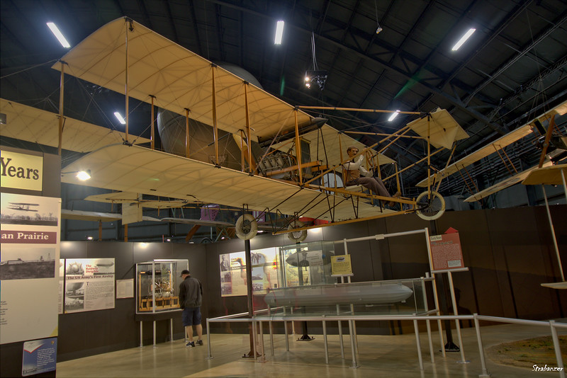 National Museum of the United States Air Force, Dayton, Ohio,   04/12/2019  Curtiss 1911 Model D Replica  This work is licensed under a Creative Commons Attribution- NonCommercial 4.0 International License.