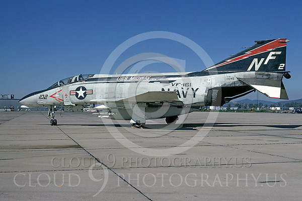 """U.S. Navy McDonnell Douglas F-4 Phantom II MiG Killers Airplane Pictures [NOTE: A """"MiG Killer"""" is a US Armed Forces Airplane With """"Kill Markings"""" That A Pilot Used to Shoot Down an Enemy Airplane.]"""