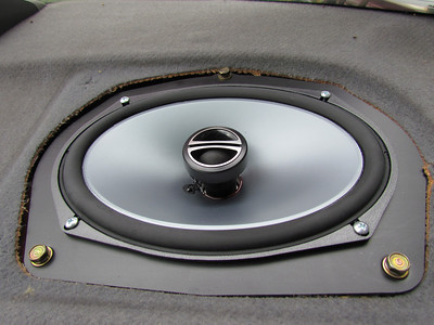 1994 Honda Accord rear speaker installation