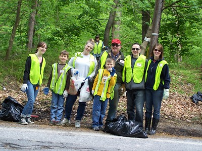 4.30.11 Thistle Run Stream Cleanup